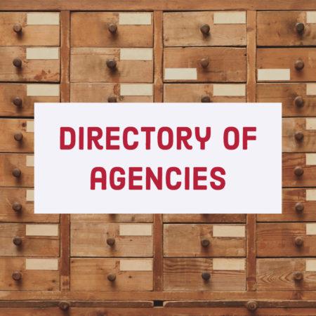 Directory of Agencies